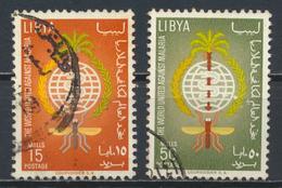 °°° LIBIA LIBYA - YT 207/8 - 1962 °°° - Libia