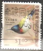 Hong Kong  2013 Fork-tailed Sunbird (Aethopyga Christinae) Fu - Oblitérés