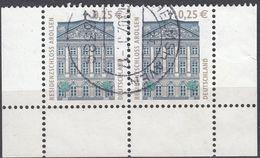 GERMANIA - GERMANY - DEUTSCHLAND - ALLEMAGNE -  2004 - Lotto 2 Valori Usati Yvert 2200 Uguali Uniti Fra Loro - Gebraucht