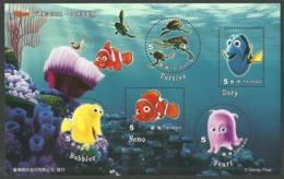 CHINA TAIWAN 2008 DISNEY MARINE LIFE NEMO M/SHEET MNH - Unused Stamps