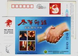 Braille Blind,Sign Language Deaf-mute,Prosthesis,CN 04 Wuhan Federation Of Disabled Equality Participation Share PSC - Handicaps