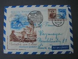 Ballon Fahrt  1951  Bug Ecke - Balloon Covers
