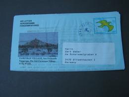 Philipinen Aerogramm 1991  Kinderdorf ...Text - Philippinen