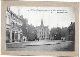 HENIN LIETARD - 62 - Place Jean Jaurès En 1928 - Légère Déchirure - DELC1 - - Henin-Beaumont