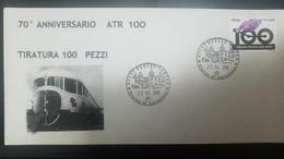L) 2005 ITALY, TRAIN, RAILWAY, ANNIVERSARY, FDC - Italy