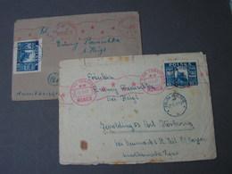 Polen 2 Old Cover 1947 - 1944-.... Republik