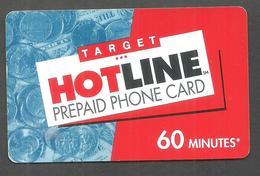 USED PREPAID HOTLINE PHONECARD - Phonecards