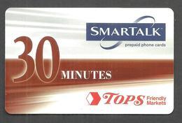 USED PREPAID SAMARTALK  PHONECARD 30 MINUTES - Other - Europe
