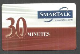 USED PREPAID SAMARTALK  PHONECARD 30 MINUTES - Phonecards