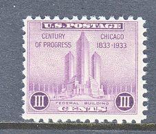 U.S.  729   **   FEDERAL  BLDG. - United States