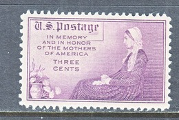 U.S.  737  Perf.  11 X 10 1/2 **   WHISTER's  MOTHER - United States