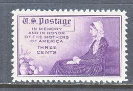 U.S.  738  Perf.  11  **   WHISTER's  MOTHER - Etats-Unis