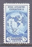 U.S.  753   *  BYRD  ANTARCTIC  EXPEDITION   SPECIAL  PRINTING   Issued No Gum. - United States