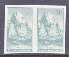 U.S.  763   *  ZION  PARK    SPECIAL  PRINTING   Issued No Gum. - United States