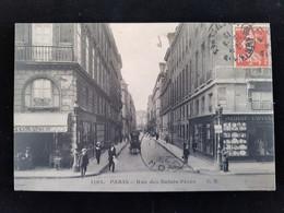 CPA D75 Paris Rue Des Saints Peres - Autres