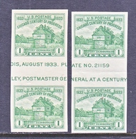 U.S.  766 A   *  HORZ.  GUTTER    SPECIAL  PRINTING   Issued No Gum. - United States