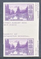 U.S.  770 A   * HORZ.  GUTTER   MT.  RAINER  NATL.  PARK    SPECIAL  PRINTING   Issued No Gum. - United States