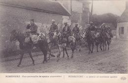 CPA - RIBECOURT - Militaria - Une Patrouille De Spahis Marocains - Weltkrieg 1914-18