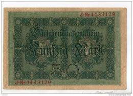 ALLEMAGNE . 50 MARK TYPE 1914 - Réf. N°10758 -- - 50 Mark