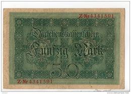 ALLEMAGNE . 50 MARK TYPE 1914 - Réf. N°10760 - - 50 Mark