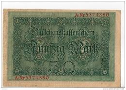 ALLEMAGNE . 50 MARK TYPE 1914 - Réf. N°10767 - - 50 Mark