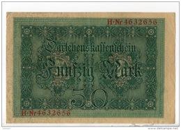 ALLEMAGNE . 50 MARK TYPE 1914 - Réf. N°10755 - - 50 Mark