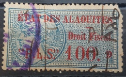 BB2 #26 - Syria ALAOUITES 1929 PLS 100 Ultramarine Fiscal Revenue Stamp - Syrië