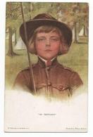 ENFANTS - LITTLE GIRL - MAEDCHEN - Jolie Carte Fantaisie Portrait Enfants Be Prepared - Ritratti