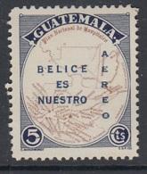 4.- GUATEMALA 1950 GUATEMALA CLAIM BELIZE - Guatemala