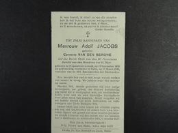 Cornelie Van Den Berghe épse Jacobs St-Quintens-Lennik 1859 Halle 1948 /05/ - Images Religieuses
