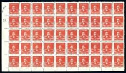 CHINA-  FEUILLET NEUF**   50 TIMBRES DENTELÉS   N° 806- BORDURE AVEC NUMÉRO- - 1949 - ... République Populaire