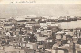 Tunisie - Sousse - Vue Générale Du Port - Carte CAP N° 35 - Tunisie