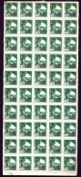 CHINA-  FEUILLET NEUF**   50 TIMBRES DENTELÉS   N° 845A- BORDURE- SURCHARGE 300- - 1949 - ... République Populaire