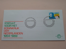 Statuut Voor Het KONINKRIJK Der NEDERLAND - 15 Dec 1969 - N.V.P.H. Nr. 101 ( Zie / Voir Photo ) 1ste Dag Uitgave / FDC ! - FDC