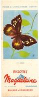 Vloeipapier Buvard Biscottes Toats Magdeleine - Granville - Vlinder Papillon - Hermite - Sucreries & Gâteaux