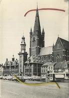 Eeklo :  Stadhuis En Kerk    :   FRITUUR  ( Formaat 15 X 10 Cm ) NELS - Eeklo