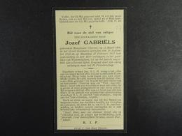 Den Eerwarden Heer Jozef Gabriels Hoogboom (Ekeren) 1908 Wommelghem 1933 /07/ - Images Religieuses