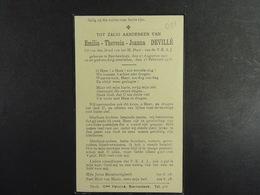 Emilia Devillé Esschenbeek 1917 1933 /011/ - Images Religieuses
