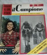 IL CAMPIONE N.24 11/6/56 MARISA ZOCCHI,  MAGNI ,GAUL/ PUBBLICITA' COCA COLA - Sport