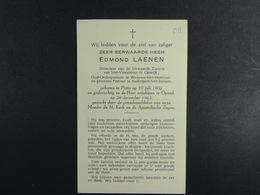 Zeer Eerwarden Heer Edmond Laenen Putte 1902 Opwijk 1963 /013/ - Images Religieuses