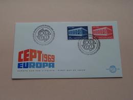 CEPT 1969 EUROPA / 28 April 1969 - N.V.P.H. Nr. 96 ( Zie / Voir Photo ) 1ste Dag Uitgave / FDC ! - FDC