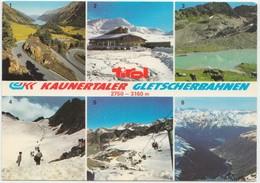 KAUNERTALER GLETSCHERBAHNEN, Tirol, Austria, 1983 Used Postcard [21794] - Kaunertal