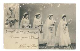 CPA RELIGION SOUVENIR DE MA 1ere COMMUNION - Christianity