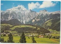 Sommerfrische Leogang Mit Ortsteil Rosental Gegen Birnhorn Land Salzburg, Austria, 1984 Used Postcard [21797] - Austria