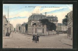 CPA Argenteuil, La Grande Rue Et Rue De Montmorency - Montmorency