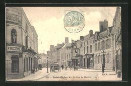 CPA Saint-Dizier, La Rue Du Marché - Saint Dizier