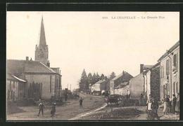 CPA La Chapelle, La Grande Rue - Frankrijk