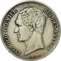 Monnaie, Belgique, Leopold I, 2-1/2 Francs, 1849, Bruxelles, TTB+, Argent, KM:11 - 10. 2 1/2 Francs