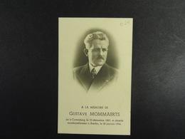 Gustave Mommaerts Cortenberg 1885 Assche 1944 /024/ - Images Religieuses