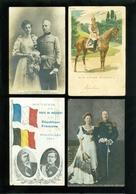 Beau Lot De 60 Cartes Postales Du Famille Royale Du Monde Dynasty     Mooi Lot 60 Postkaarten Van De Koninklijke Familie - Cartes Postales